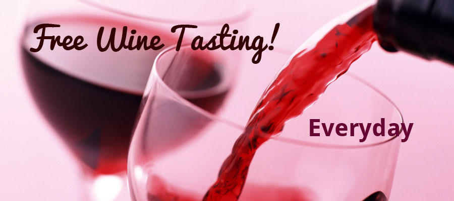 Free Wine Tasting